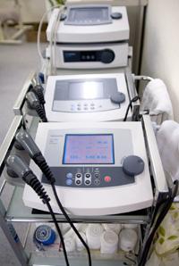最先端の治療機器のイメージ画像